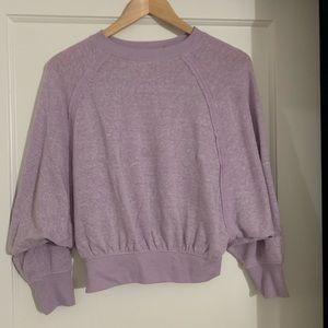 urbanoutfitters lavender/light purple sweater